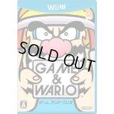 WiiU ゲーム&ワリオ 【新品】