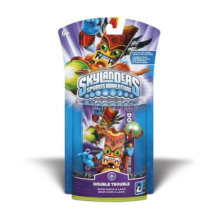 画像1: Skylanders Spyro's Adventure Single Character Pack : Double Trouble スカイランダース スパイロズ アドベンチャー シングルキャラクターパック : ダブルトラブル