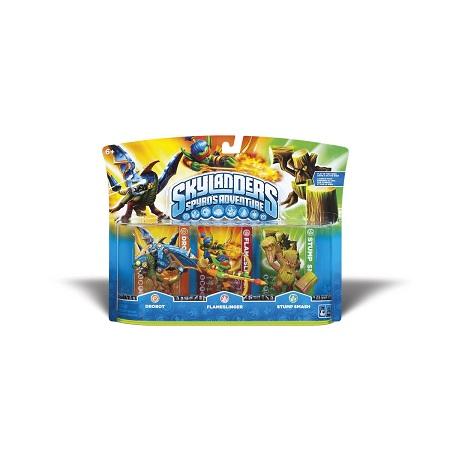 画像1: Skylanders Spyro's Adventure Triple Pack: Drobot/Flameslinger/Stump Smash スカイランダース スパイロズ アドベンチャー トリプルパック : ドロボット/フレイムスリンガ/スタンプ・スマッシュ