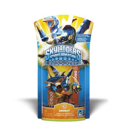 画像1: Skylanders Spyro's Adventure Single Character Pack : Drobot スカイランダース スパイロズ アドベンチャー シングルキャラクターパック : ドロボット